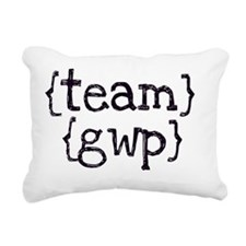 teamgwp_tshirt_artwork Rectangular Canvas Pillow
