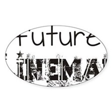 future lineman black Decal