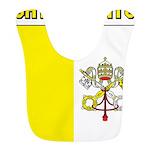 Vatican City Flag Bib