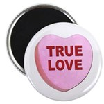 True Love Candy Valentine Heart Magnet