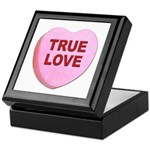 True Love Candy Valentine Heart Keepsake Box