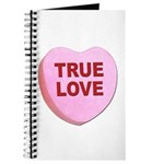 True Love Candy Valentine Heart Journal