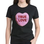 True Love Candy Valentine Heart (Front) Women's Da