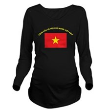 Vi?t Nam Long Sleeve Maternity T-Shirt