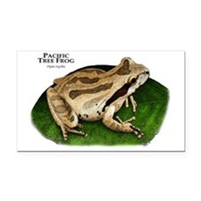 Pacific Tree Frog Rectangle Car Magnet