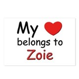 I love zoie Postcards (Package of 8)