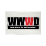 WWWD Rectangle Magnet (10 pack)