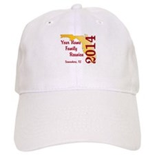 Florida Family Reunion Baseball Baseball Cap