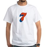 Candice 3D 7 White T-Shirt