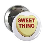 Sweet Thing Valentine Heart Button