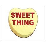 Sweet Thing Valentine Heart Small Poster