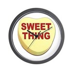 Sweet Thing Valentine Heart Wall Clock