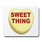 Sweet Thing Valentine Heart Mousepad