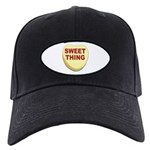 Sweet Thing Valentine Heart Black Cap