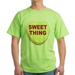 Sweet Thing Valentine Heart Green T-Shirt