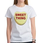 Sweet Thing Valentine Heart (Front) Women's T-Shir