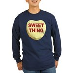 Sweet Thing Valentine Heart (Front) Long Sleeve Da