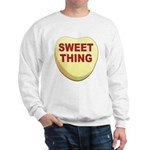 Sweet Thing Valentine Heart Sweatshirt