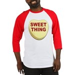 Sweet Thing Valentine Heart Baseball Jersey