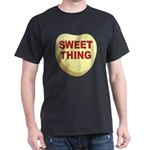 Sweet Thing Valentine Heart (Front) Dark T-Shirt