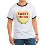 Sweet Thing Valentine Heart (Front) Ringer T