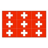 1/3 Scale Swiss Flags