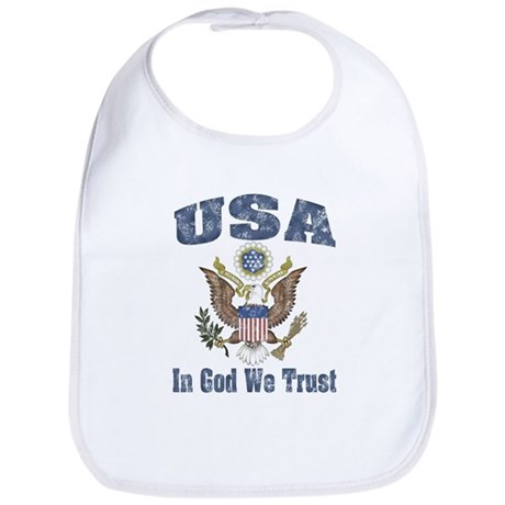 USA - Weathered Look Bib