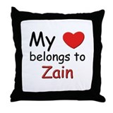 I love zain Throw Pillow