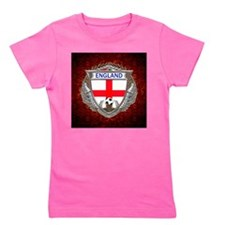 England Soccer Keepsake Box Girl's Tee