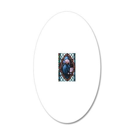 St Ignatius Loyola 20x12 Oval Wall Decal