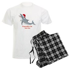Personalized Christmas Dolphin Pajamas