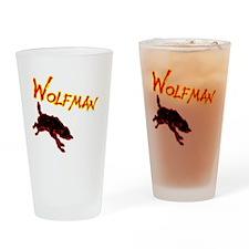 wolf copy Drinking Glass