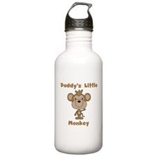 Daddy's Little Monkey Water Bottle