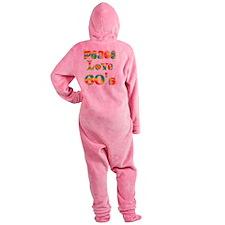 6-60s Footed Pajamas