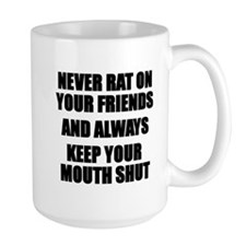 Never Rat Mugs