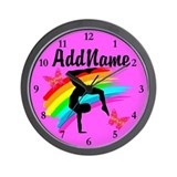 Gymnastics Wall Clocks