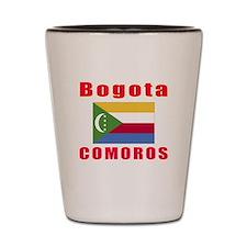 Bogota Comoros Designs Shot Glass