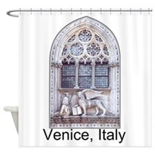 Customizable San Marco Cathedral Window Shower Cur
