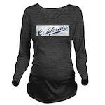 Retro California Long Sleeve Maternity T-Shirt