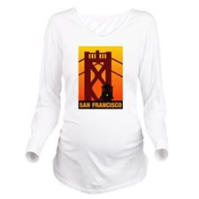 San Francisco Long Sleeve Maternity T-Shirt