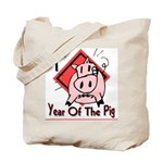 Year of the Pig Tote Bag