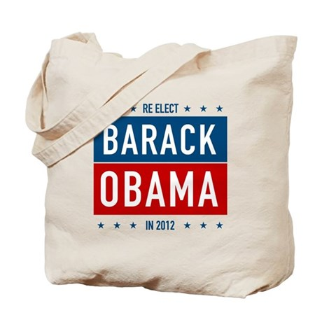 Barack Obama for President Tote Bag