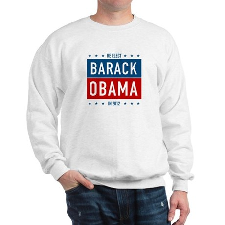 Barack Obama for President Sweatshirt