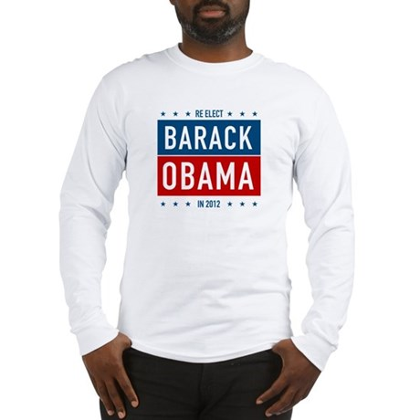 Barack Obama for President Long Sleeve T-Shirt