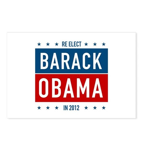 Barack Obama for President Postcards (Package of 8
