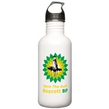 BoycottBP1Bk Water Bottle