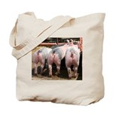 3 Pigs Tote Bag