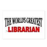"""The World's Greatest Librarian"" Postcards (Packag"