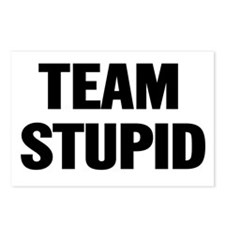 team_stupid Postcards (Package of 8)