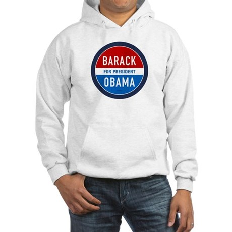 Barack Obama for President Hooded Sweatshirt